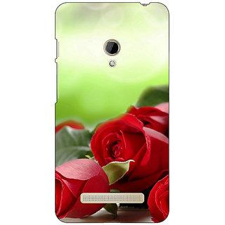 1 Crazy Designer Roses Back Cover Case For Asus Zenfone 5 C490736