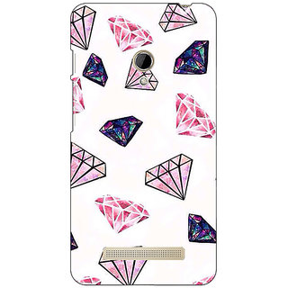 1 Crazy Designer Diamond Back Cover Case For Asus Zenfone 5 C490088