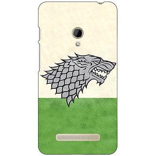 1 Crazy Designer Game Of Thrones GOT House Stark  Back Cover Case For Asus Zenfone 5 C490120