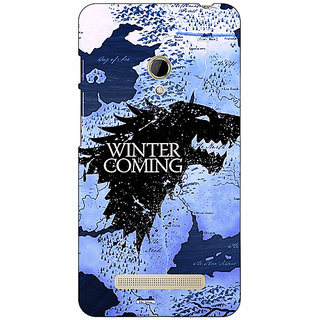 1 Crazy Designer Game Of Thrones GOT House Stark  Back Cover Case For Asus Zenfone 5 C490122
