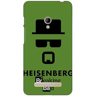 1 Crazy Designer Breaking Bad Heisenberg Back Cover Case For Asus Zenfone 5 C490414