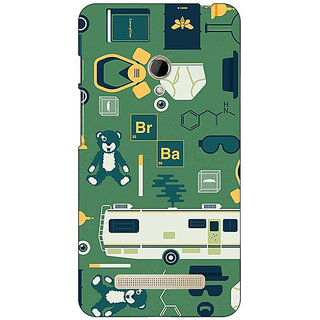 1 Crazy Designer Breaking Bad Back Cover Case For Asus Zenfone 5 C490415