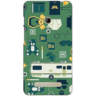 1 Crazy Designer Breaking Bad Back Cover Case For Asus Zenfone 5 C490415