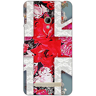 1 Crazy Designer Floral Back Cover Case For Asus Zenfone 5 C490779