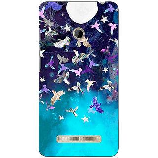 1 Crazy Designer Moonlight Back Cover Case For Asus Zenfone 5 C490780