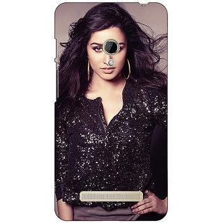1 Crazy Designer Bollywood Superstar Shraddha Kapoor Back Cover Case For Asus Zenfone 5 C491064