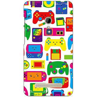 1 Crazy Designer Gamer Back Cover Case For Asus Zenfone 5 C491453