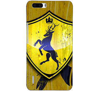 1 Crazy Designer Game Of Thrones GOT House Baratheon  Back Cover Case For Honor 6 Plus C500167