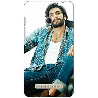 1 Crazy Designer Bollywood Superstar Ranveer Singh Back Cover Case For Asus Zenfone 5 C490955