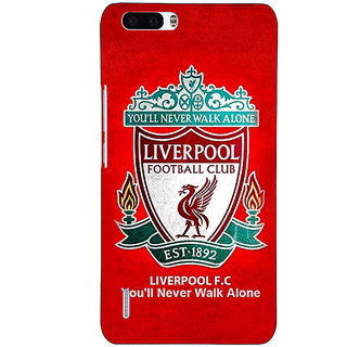 1 Crazy Designer Liverpool Back Cover Case For Honor 6 Plus C500542