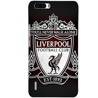 1 Crazy Designer Liverpool Back Cover Case For Honor 6 Plus C500543