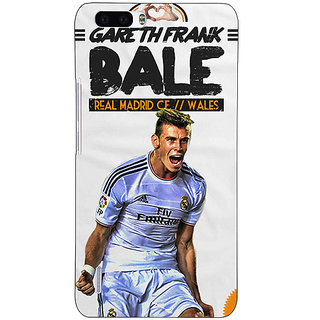 1 Crazy Designer Real Madrid Bale Back Cover Case For Honor 6 Plus C500585