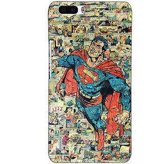 1 Crazy Designer Superheroes Superman Back Cover Case For Honor 6 Plus C500038