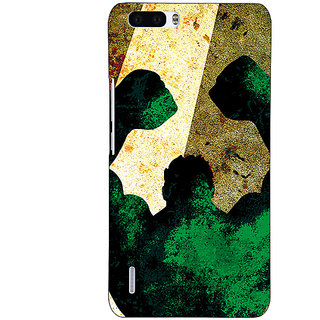 1 Crazy Designer Superheroes Hulk Back Cover Case For Honor 6 Plus C500328