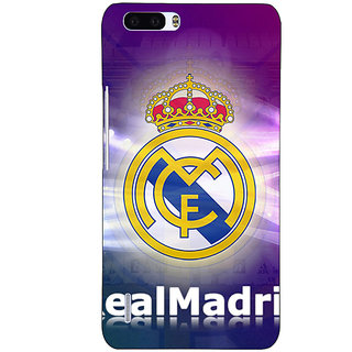 1 Crazy Designer Real Madrid Back Cover Case For Honor 6 Plus C500595