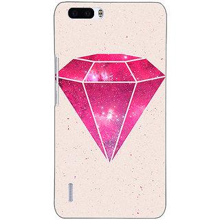 1 Crazy Designer Diamond Back Cover Case For Honor 6 Plus C500609