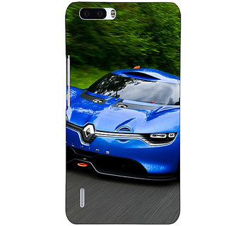 1 Crazy Designer Super Car Renault Alpine Back Cover Case For Honor 6 Plus C500651