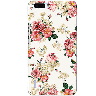 1 Crazy Designer Floral Pattern  Back Cover Case For Honor 6 Plus C500659