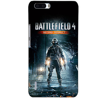 1 Crazy Designer Battlefield 4 Back Cover Case For Honor 6 Plus C500849