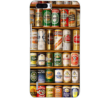 1 Crazy Designer Beer Cans Back Cover Case For Honor 6 Plus C501233