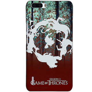 1 Crazy Designer Game Of Thrones GOT Houses Back Cover Case For Honor 6 Plus C501527