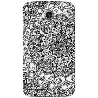 1 Crazy Designer Black And White Doodle Pattern Back Cover Case For Google Nexus 6 C510215