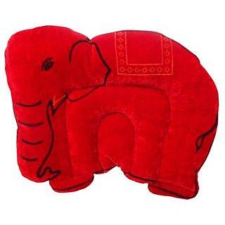 Wonderkids Baby Mustard(Rai) Pillow Elephant Shape Red