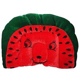Wonderkids Baby Mustard(Rai) Pillow Watermelon Shape Red  Green