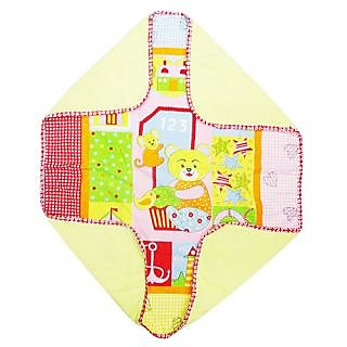 Wonderkids Fleece Blanket Teddy Print