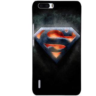 1 Crazy Designer Superheroes Superman Back Cover Case For Honor 6 Plus C500386