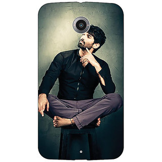 1 Crazy Designer Bollywood Superstar Aditya Roy Kapoor Back Cover Case For Google Nexus 6 C510940