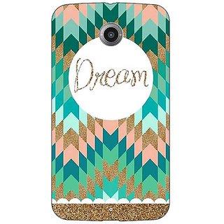 1 Crazy Designer Dream Back Cover Case For Google Nexus 6 C510095