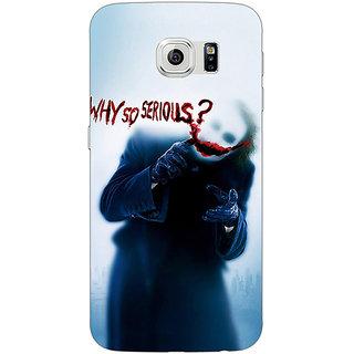 1 Crazy Designer Villain Joker Back Cover Case For Samsung S6 C520041
