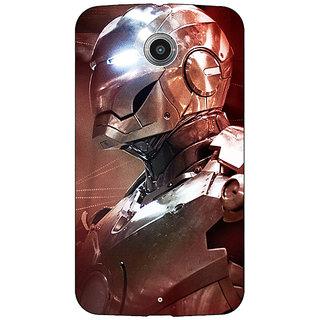 1 Crazy Designer Superheroes Ironman Back Cover Case For Google Nexus 6 C510865