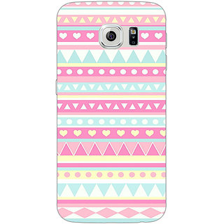 1 Crazy Designer Aztec Girly Tribal Back Cover Case For Samsung S6 C520075