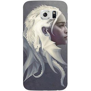 1 Crazy Designer Game Of Thrones GOT House Targaryen  Back Cover Case For Samsung S6 C520141