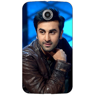 1 Crazy Designer Bollywood Superstar Ranbir Kapoor Back Cover Case For Google Nexus 6 C510923