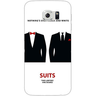 1 Crazy Designer SUITS Harvey Spector Mike Ross Back Cover Case For Samsung S6 C520490