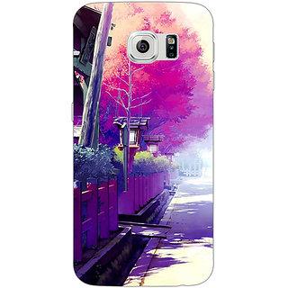 1 Crazy Designer Wonderland Back Cover Case For Samsung S6 C520735