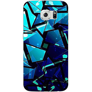 1 Crazy Designer Crystal Prism Back Cover Case For Samsung S6 C521412