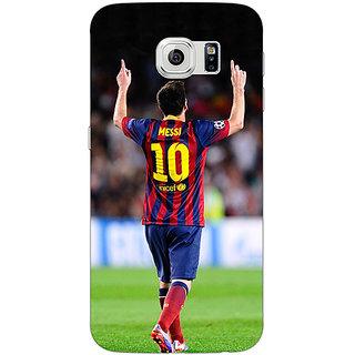 1 Crazy Designer Barcelona Messi Back Cover Case For Samsung S6 C520532