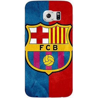 1 Crazy Designer Barcelona Back Cover Case For Samsung S6 C520537