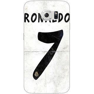 1 Crazy Designer Real Madrid Ronaldo Back Cover Case For Samsung S6 C520598