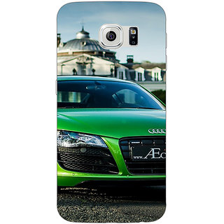 1 Crazy Designer Super Car Audi Back Cover Case For Samsung S6 C520619