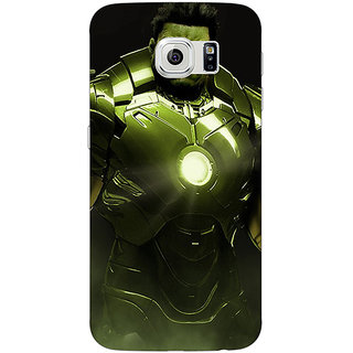 1 Crazy Designer The Incredible Hulk Back Cover Case For Samsung S6 C520858