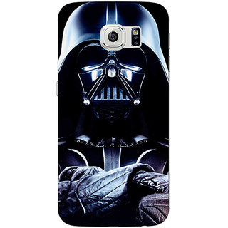 1 Crazy Designer Star Wars Darth Vader Back Cover Case For Samsung S6 C520875