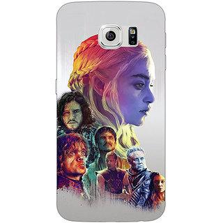1 Crazy Designer Game Of Thrones GOT All Back Cover Case For Samsung S6 C521529