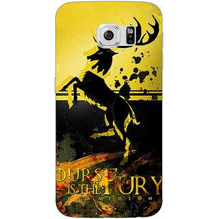 1 Crazy Designer Game Of Thrones GOT Baratheon Back Cover Case For Samsung S6 C521530