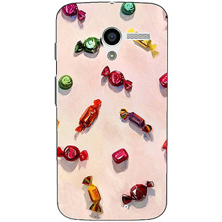 1 Crazy Designer Toffee Pattern Back Cover Case For Moto X (1st Gen) C530247