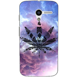 1 Crazy Designer Weed Marijuana Back Cover Case For Moto X (1st Gen) C530495